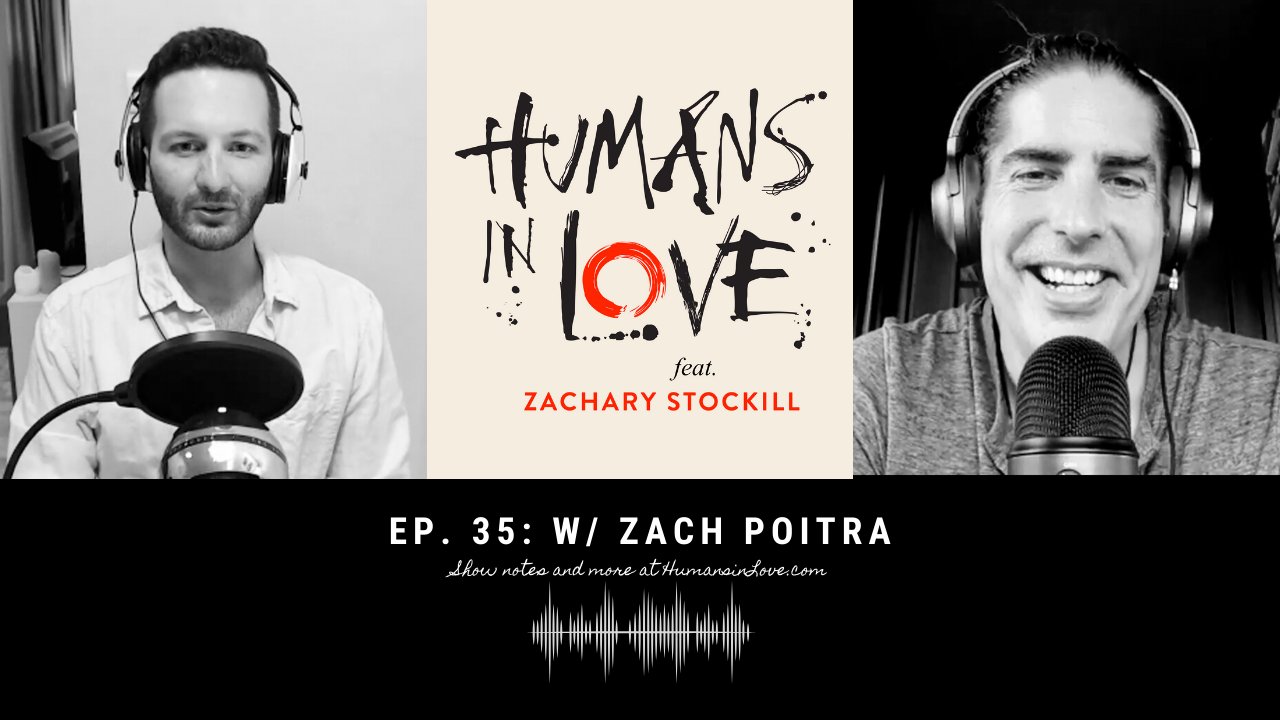 #35 – From Stock Broker to Shaman with Zach Poitra of La Familia Ayahuasca
